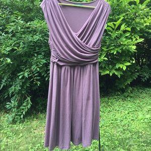 Anthropologie velvet brand sleeveless dress